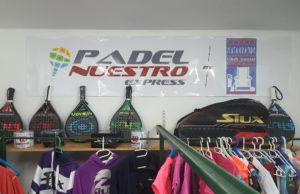 Antequera, primera ciudad malagueña con una tienda Padel Nuestro Express