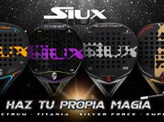 Siux lanza al mercado cuatro nuevas palas de pádel