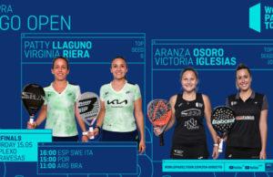 En directo las semifinales del turno de tarde del Cupra Vigo Open 2021
