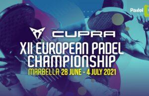 Padel View retransmitirá en exclusiva el XII Campeonato de Europa de Pádel