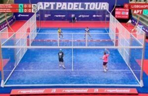 En directo la jornada de tarde de los cuartos de final del APT Padel Tour Lisboa Open