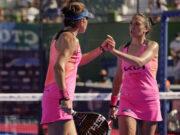 Patty Llaguno y Virginia Riera alcanzan en Marbella su tercera final consecutiva