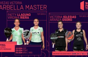 En directo las semifinales del turno de mañana del Cervezas Victoria Marbella Master 2021