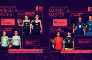 En directo las finales del Cervezas Victoria Marbella Master 2021