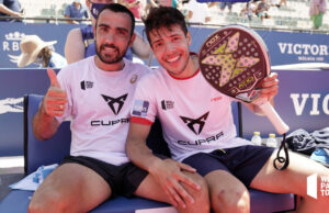 Primera final de la temporada para Agustín Tapia y Pablo Lima