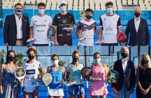 Marbella encumbra a Javi Garrido - Arturo Coello y Bea González - Bea Caldera como las perlas sub-23 del pádel español