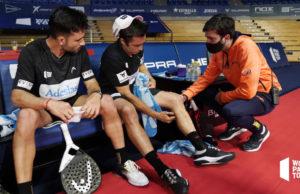 Fernando Belasteguín se perderla los próximos torneos por lesión