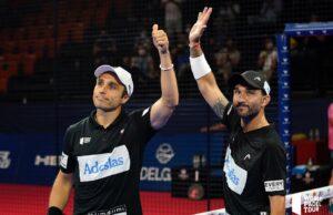 Sanyo Gutiérrez y Fernando Belasteguín jugarán la final del Valencia Open