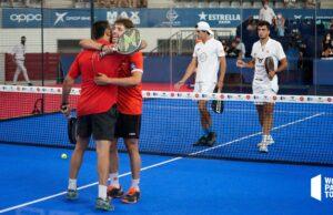 Lima y Tapia ganan a los nº1 y se meten en la final del Estrella Damm Las Rozas Open 2021