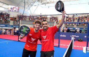Pablo Lima y Agustín Tapia conquistan en Las Rozas su primer título de la temporada