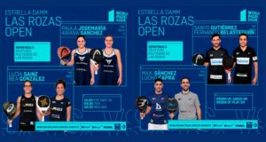 En directo las semifinales del turno de mañana del Estrella Damm Las Rozas Open 2021