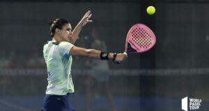 Las parejas favoritas superan la primera ronda del cuadro final femenino del Estrella Damm Las Rozas Open 2021