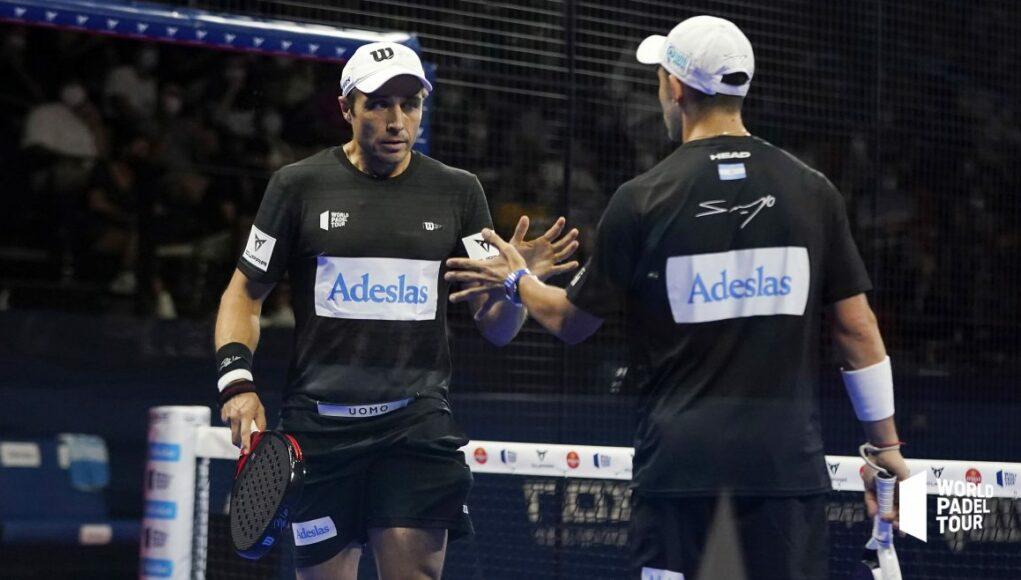 Sanyo Gutiérrez y Fernando Belasteguín triunfan en Valencia