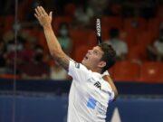 Ramiro Moyano causa baja para el Estrella Damm Las Rozas Open 2021