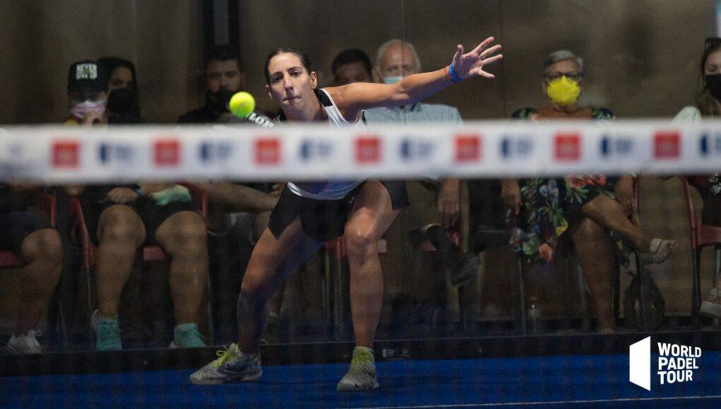 Teresa Navarro baja en los cuartos de final del Estrella Damm Las Rozas Open 2021