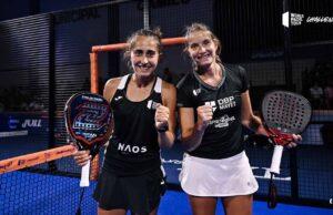 Alix Collombon y Jessica Castelló se proclaman campeonas del TAU Cerámica La Nucía Challenger