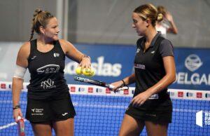 Dos de las parejas favoritas se despiden en los cuartos de final femeninos del World Padel Tour Lugo Open 2021