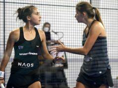 Alix Collombon y Jessica Castelló eliminan a Marta Ortega y Bea González en los octavos de final