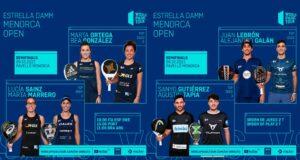 En directo las semifinales del turno de tarde del Estrella Damm Menorca Open 2021