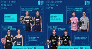 En directo las semifinales del turno de mañana del Estrella Damm Menorca Open 2021