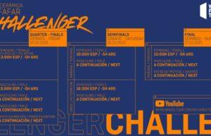 Horarios de la retransmisión del TAU Cerámica Alfafar Challenger