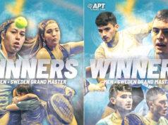 Dal Bianco/Arce y Carrascosa/García se proclamaron campeones del APT Sweden Grand Master
